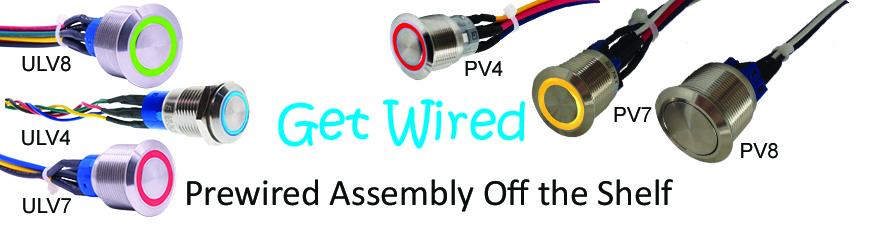 Prewired  Antivandal switches